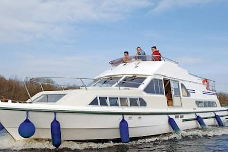 3 night cruise on the river Shannon - Loď