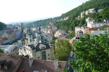 Advent in peace - with stunning view. For 3 people - Karlovy Vary