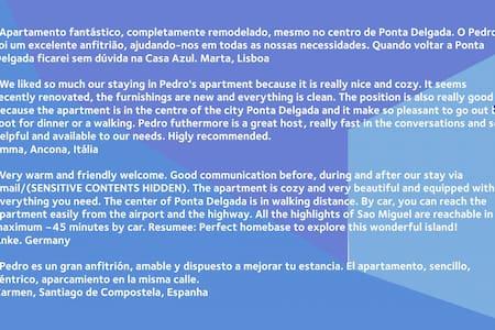 Casa Azul T1 Ponta Delgada/centro - Ponta Delgada - Appartamento