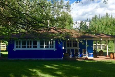Casa Azul en Santa Cruz - Haus