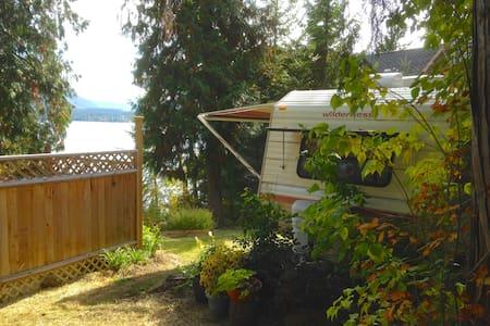 Lakefront RV Vacation Rental - Christina Lake