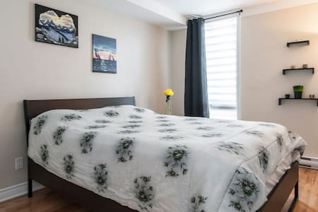 Cozy 1 bedroom apartment (downtown& Old Port) - Appartement