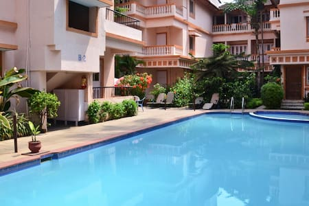 Studio Apartment on Rent - Candolim - Lakás