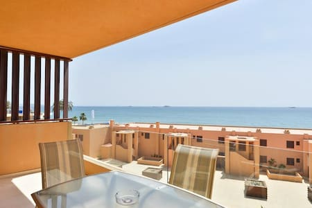 Beautiful sea view apartment in Playa d'en Bossa - Sant Josep de sa Talaia