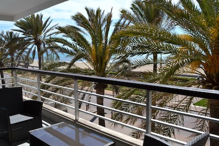 Chill apartment 1st line sea views - Palma - Apartment
