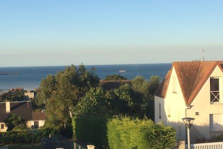Chambre vue sur mer Arromanches les Bains - Arromanches-les-Bains
