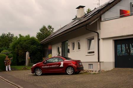 Avantgarde-Living im Bilderhaus in Kandern - Daire