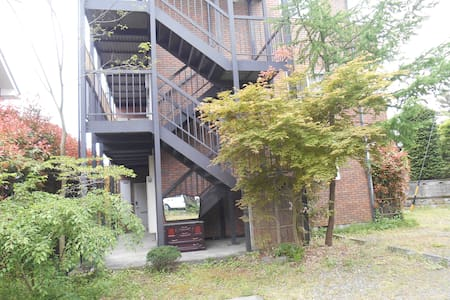 上高地、白馬岳等北アルプスの登山口に近い「森のハイジ」103号室 - Apartment