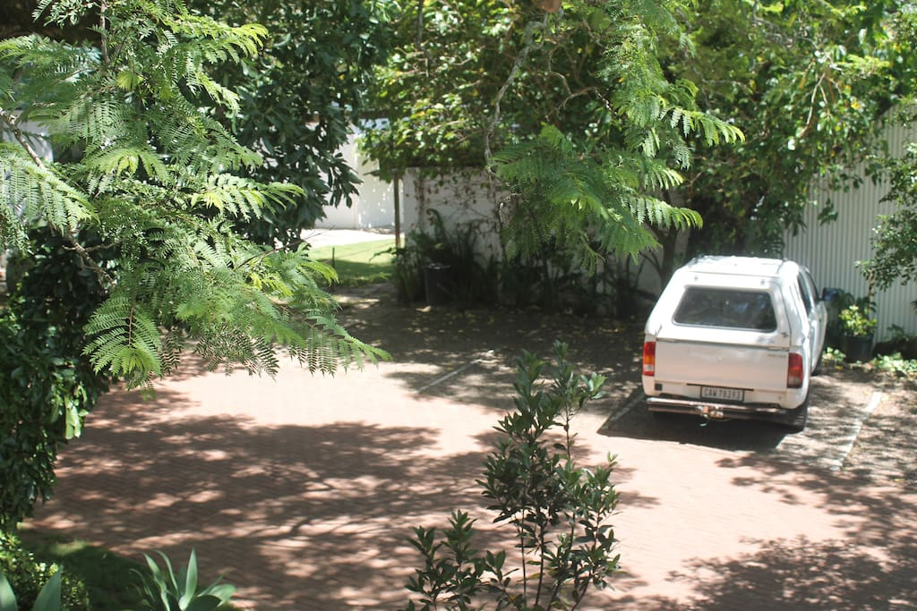 Safe parking in gated grounds