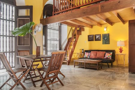 Romantic Loft in center of Old San Juan - San Juan