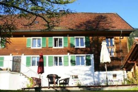 Appartement  indépendant dans ferme rénovée - Cerniat Val-de-Charmey