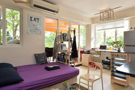 Fantastic large design studio+private terrace 港島豪宅 - hong kong - Lejlighed
