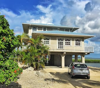 Big Pine Key Waterfront Home w/boat ocean access - Big Pine Key - House