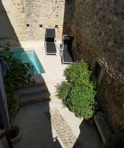 Maison de CHARME en pierre avec piscine chauffée - House