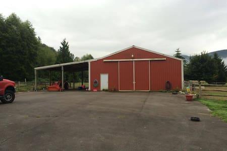 RV or Horse Trailer Parking for Fair - Monroe