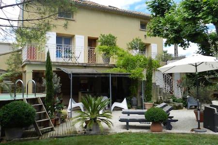 Chambre entre Orange et  Avignon - MONTFAUCON - Huis