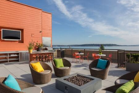 Comfy 1 Bed Room Apartment in Lower Queen Anne - Seattle - Apartment