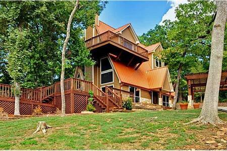 Copper Cabin at Lake Texoma - Casa