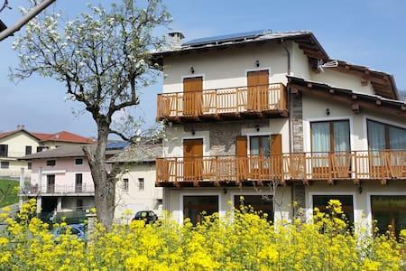 Relax VAL CHISONE a 30min da Torino - Prarostino - Apartamento