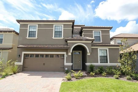 ChampionsGate - Pool Home 8BD/5BA - Sleeps 16 - Gold - RCG831 - Four Corners