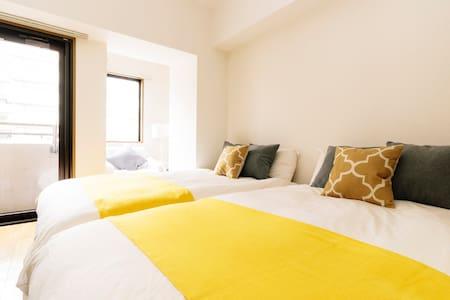 4mins Meguro sta. / good access luxury apt + wifi - Appartement