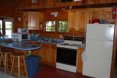 cozy lakefront cottage - Readfield - Kisház