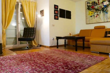 Ruhige Ferienwohnung mit Terrasse und Garten - Apartment