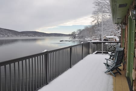 Lakefront 3 Br- Cozy Winter Escape - Greenwood Lake - Wohnung