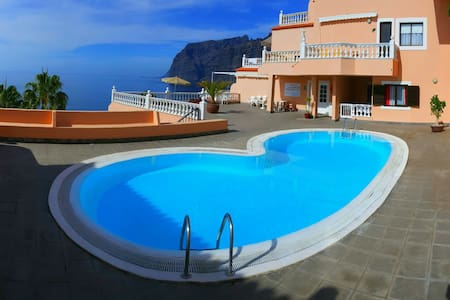 GREAT APARTMENT WITH STUNNING VIEWS - Santiago del Teide - Appartement