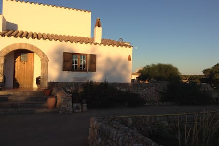 Farm, tranquil country views, close to beach - Sant Lluís