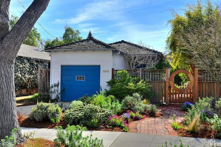 Charming and Peaceful 2BR Home - Palo Alto - Hus