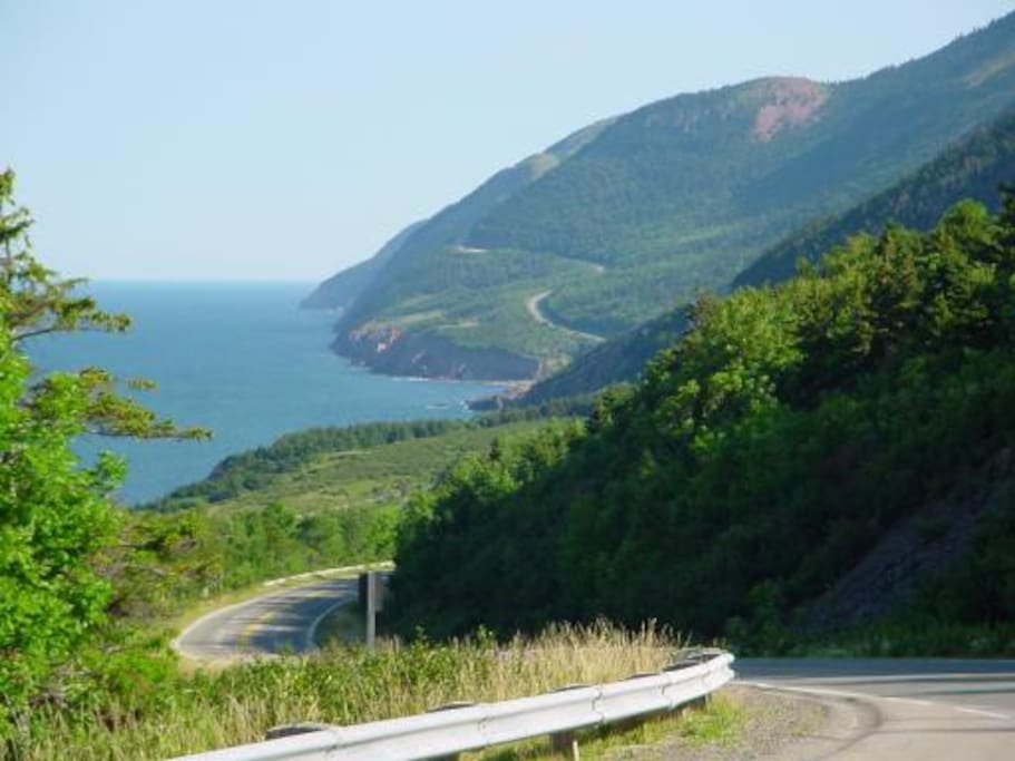 The best views of the Cabot Trail only 5 mins from Chalet.