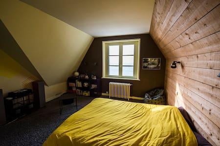 Chambre chez l'habitant - Vue mer - House