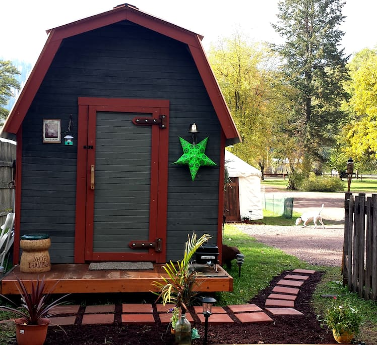 Montana Rustic Cabin Cabins For Rent In Troy