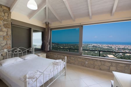 Cozy two bedroom apartment with panoramic sea view - Lefkada - Villa