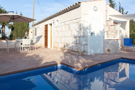 Small cottage with private pool - Muro - Loft