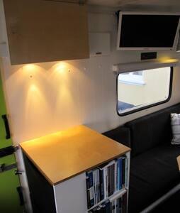 Unik Campingvogn nær Stevns Klint m. bad/toilet - Store Heddinge - Casa