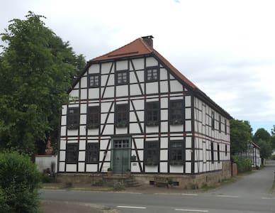 Ferienwohnung am Schloß I - Brakel - Appartamento