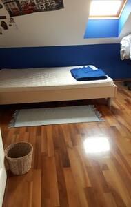 Single private room with balcony - Brezje pri Grosupljem