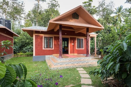 Clean and green room in a natural setting - Wayanad