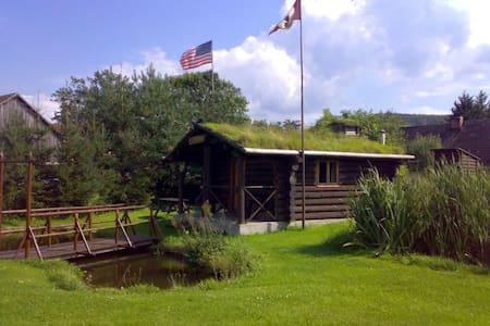Ubytování ve westernovém stylu - Hütte