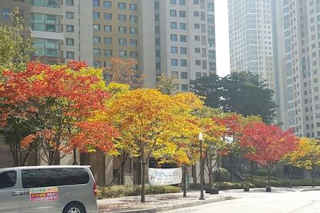 天安牙山站附近有游泳馆的舒适居家 천안아산역 근처 내집 같은 집 - 아산시, 충청남도, KR