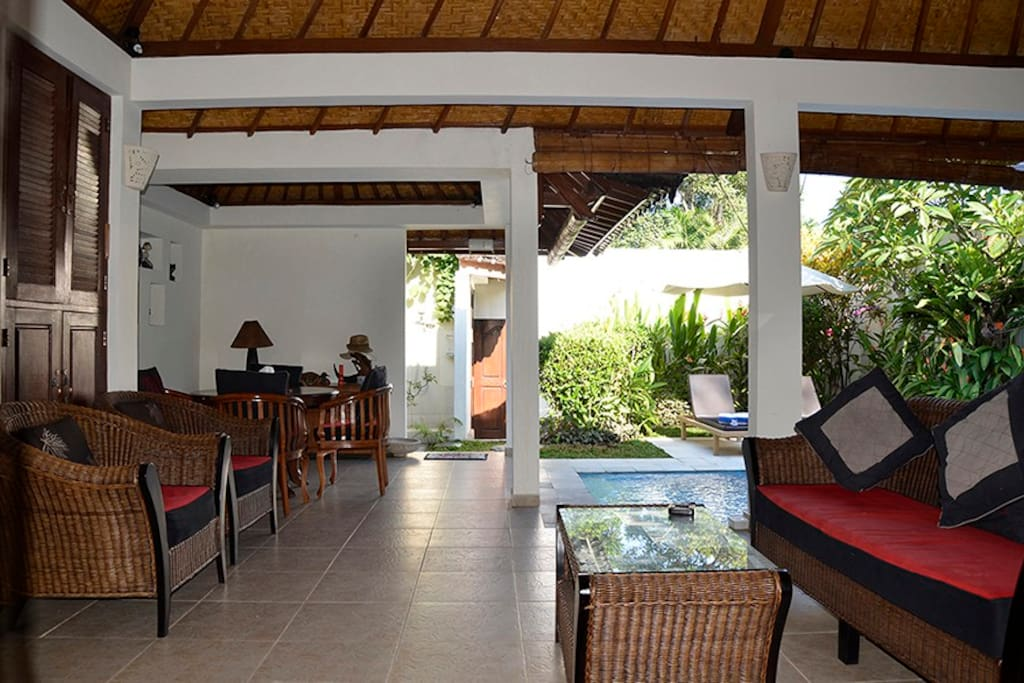 Free fast fibre optic WiFi is accessible everywhere in the villa.