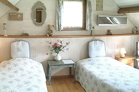 B&B Twin beds, priv facilities WW1 - Courcelles-au-Bois - Aamiaismajoitus
