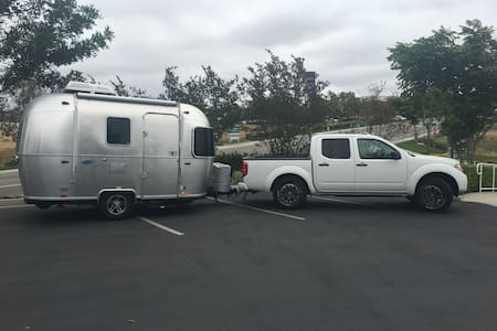 16 foot Bambi Airstream w/ Nissan Frontier - Grand Canyon Village