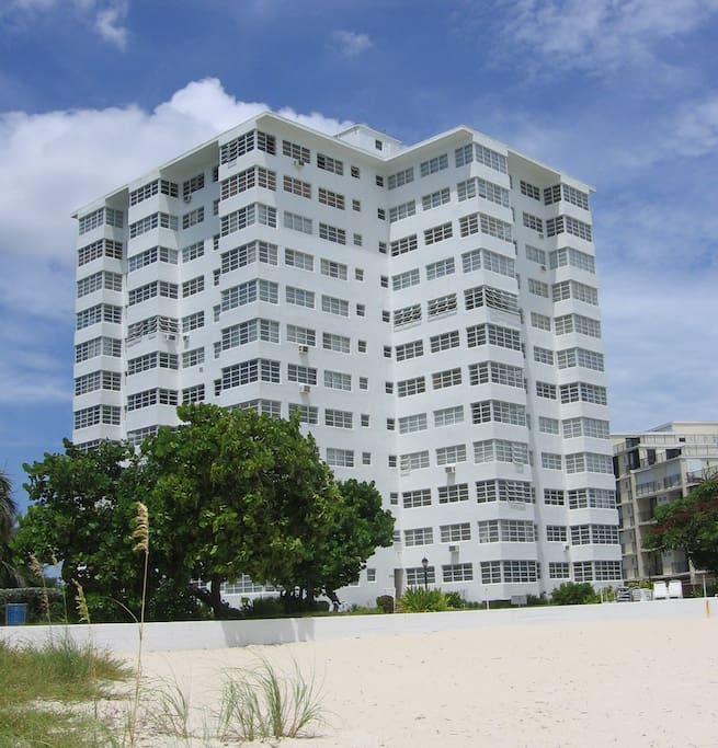 Riviera Towers exterior.