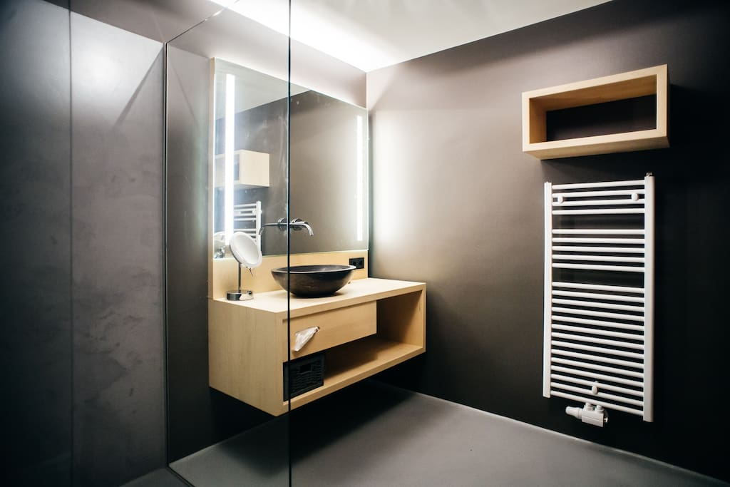 The bathroom with all comfort