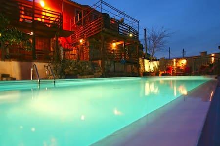 Villa Casetta al Costa  – mit Pool+Sauna + Garten - Rodi' Milici - Villa