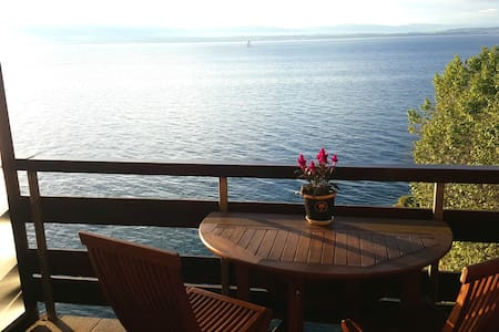 Appartement les pieds dans l'eau - Publier