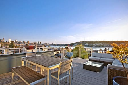 5 Story Townhouse With Private Roof - Seattle - Townhouse
